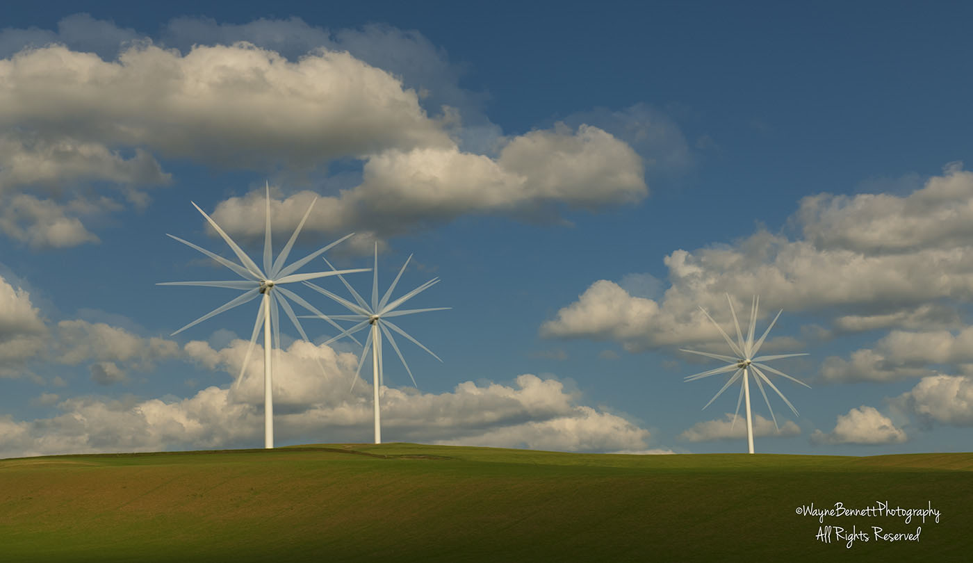 Wind Turbines in Palouse